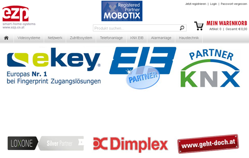 ezp smart-home-systems Onlineshop